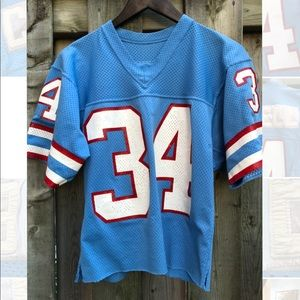 Vintage 80's Earl Campbell NFL Oilers Jersey